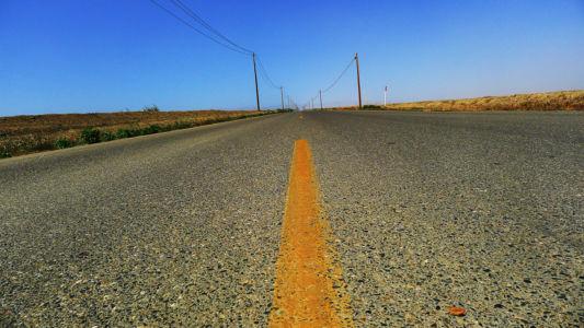 California-Mendota-road