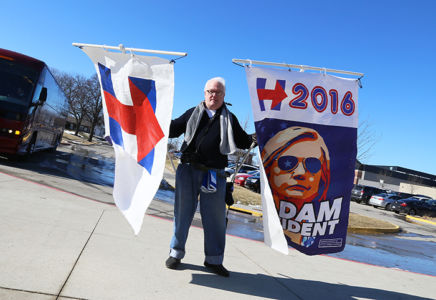 Clinton-supporter i Iowa