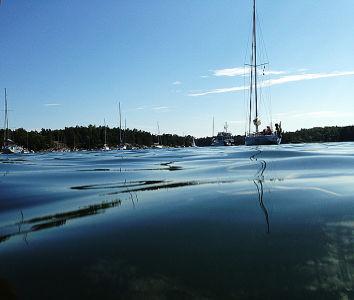 Finnhamn-water