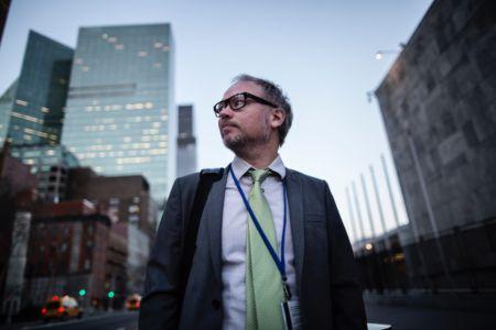 Erik vid FN i NYC