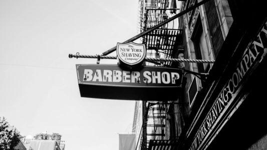 Barber shop från förr