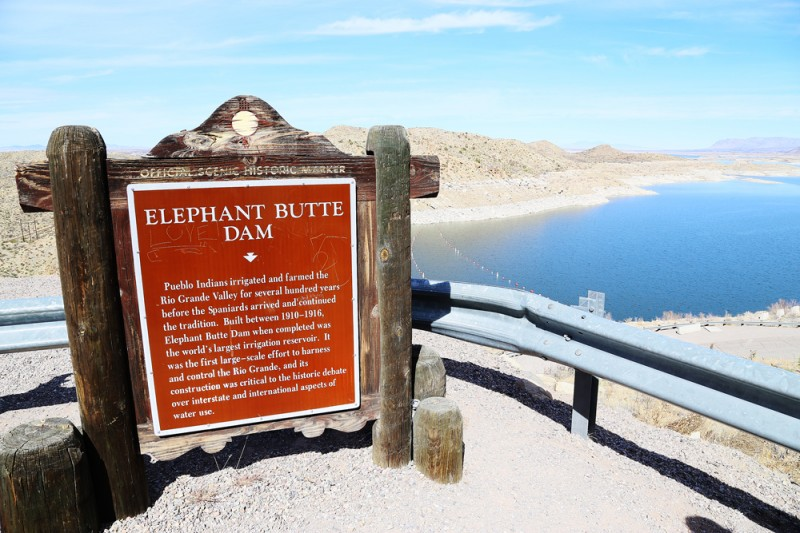 Elephant's Butte.