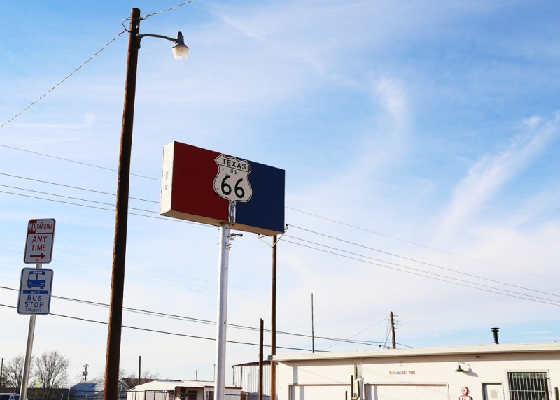 Route 66, Amarillo.