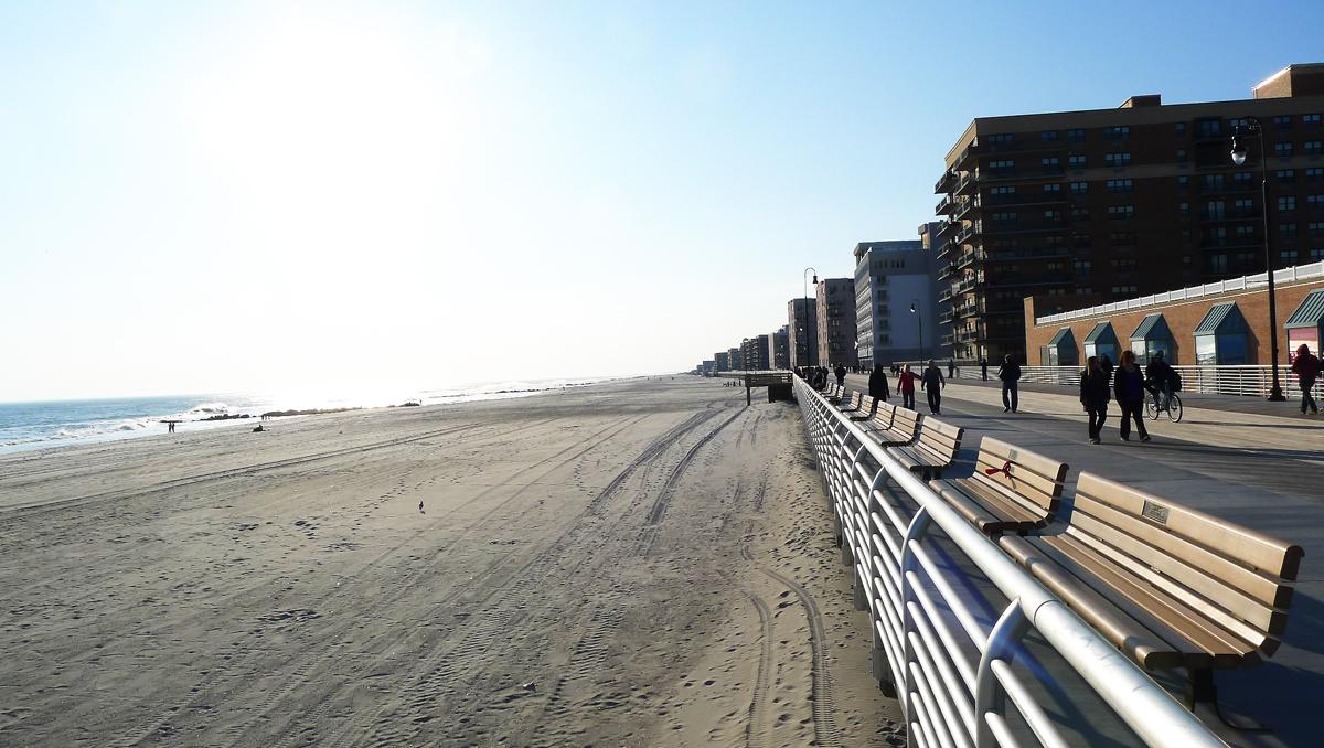 Stranden vid Long Beach.