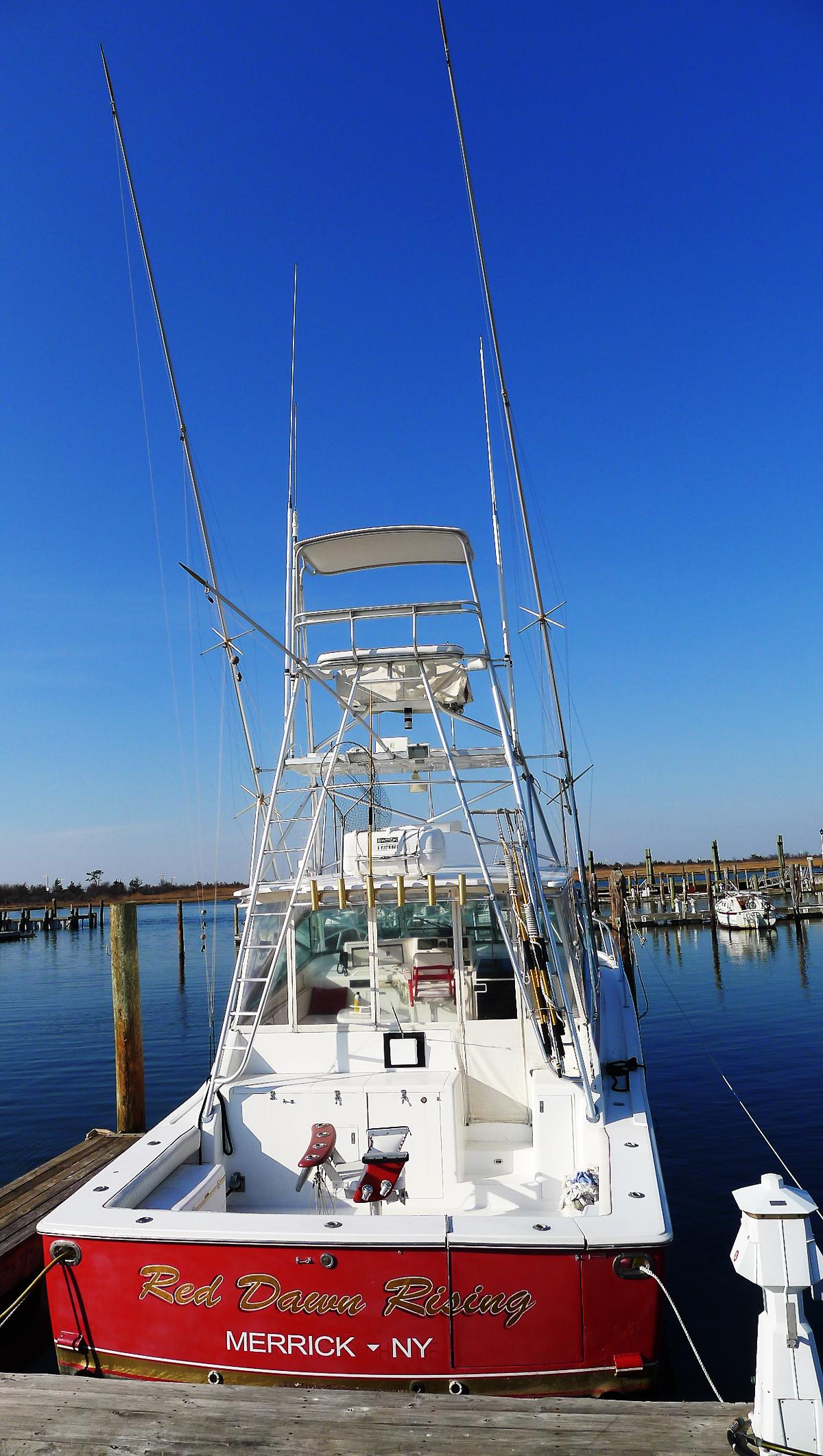 En hobbyfiskebåt.