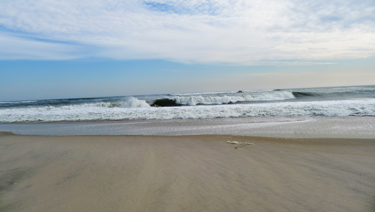 Rejäla vågor.