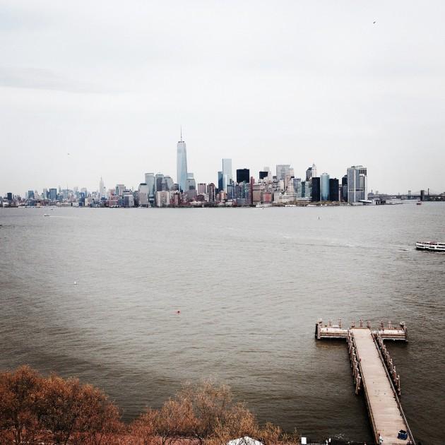 Manhattans skyline.