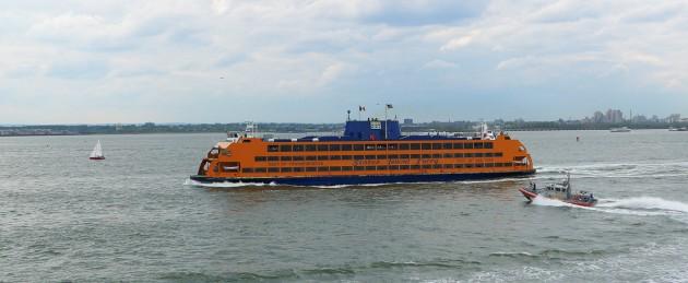 A Staten Island Ferry.
