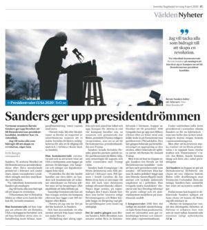 Sanders_avhopp_svd