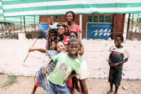 Namibia-barn