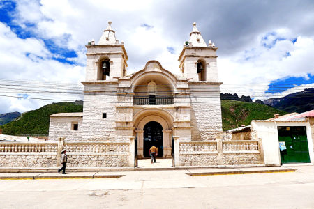 A Peruvian church.