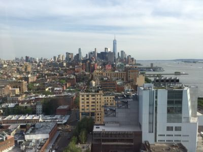 Southern Manhattan from The Standard Hotel