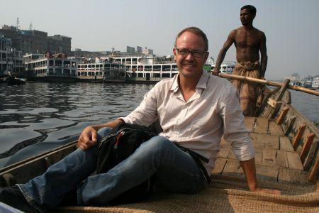 Ute pΠBuriganga i Dhaka.