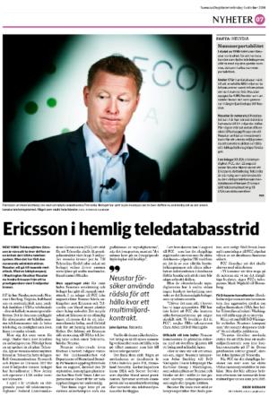Ericsson-neustar-svd