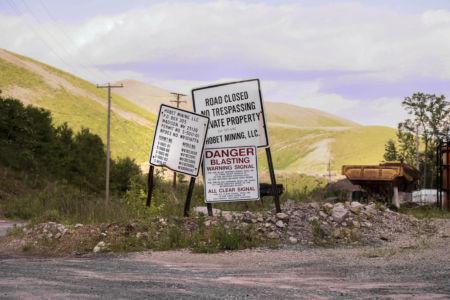 Den öde kolgruvan