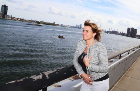 Isabella Lövin i FN i New York