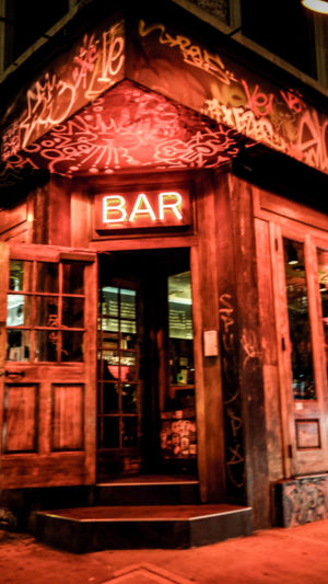 East Village bar