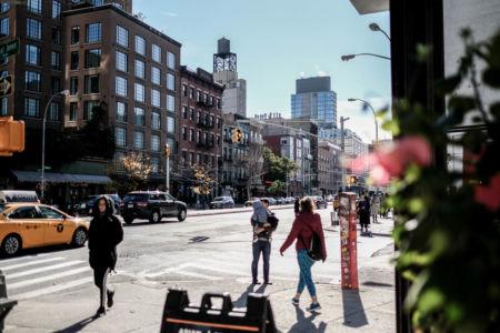 Bowery Avenue söderut