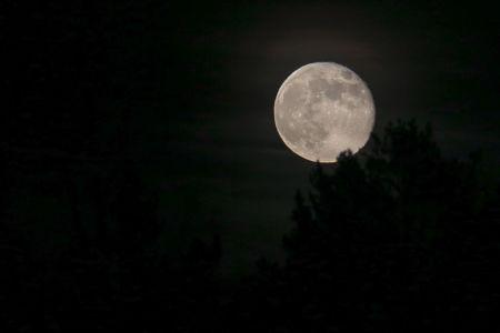 Måne över Roslagen