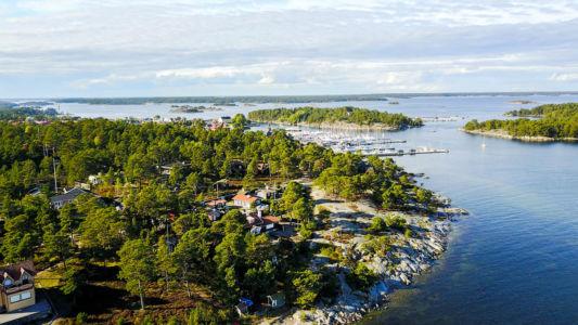 Sandhamn-flygbild