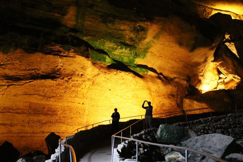 Grottorna i Carlsbad, New Mexico.