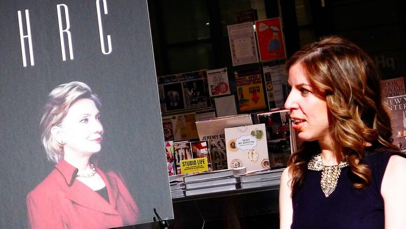Amie Parnes, reporter på The Hill. Hennes kollega jobbar på Bloomberg News.
