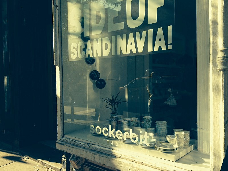 Sockerbit i West Village på Manhattan.