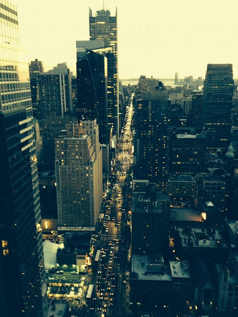 Utsikt från 40:e våningen.