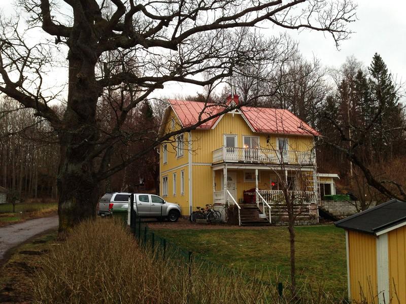 Alphyddan, faniljen Bergins tidigare residens som innehöll telefonväxeln i början av 1900-talet.