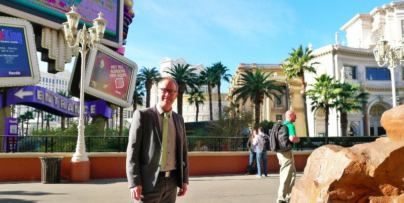 Erik Bergin reporting from the CES electronics show in Las Vegas, January 2014.