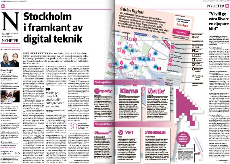 SvD Näringsliv kartlägger teknikbolag i tisdagstidningen.