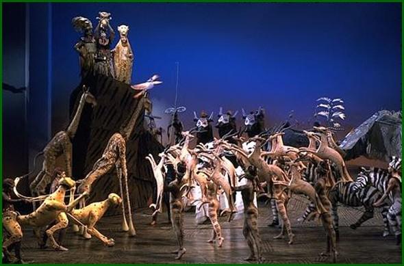 Lion King på Broadway, New York. Foto: Disney