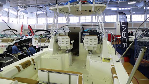 Striper är en utpräglad dagsfiskebåt.