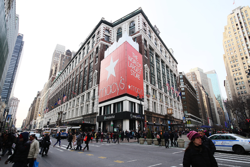 Varuhuset Macy's i New York.