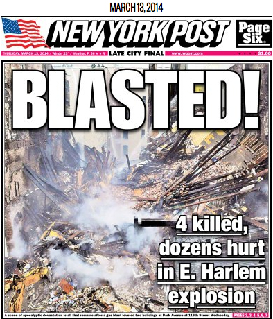 Torsdagens New York Post.