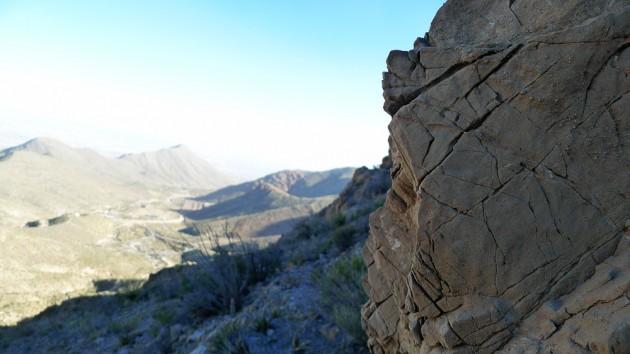 Franklin State Park, strax norr om El Paso, Texas.