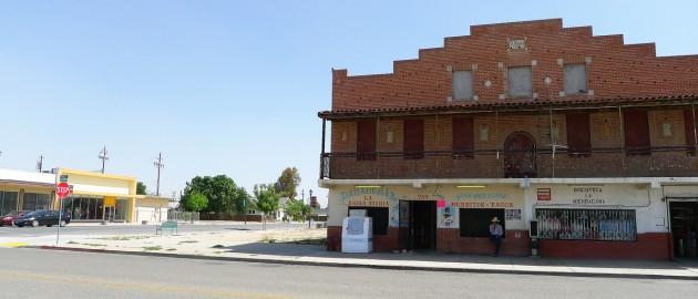En lugn söndag i Mendota, centrala Kalifornien.