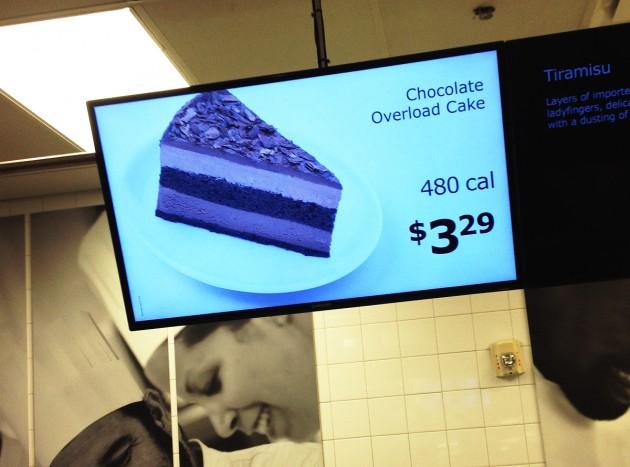 Svensk chokladkaka.