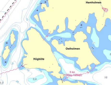 Ostholmen-chart